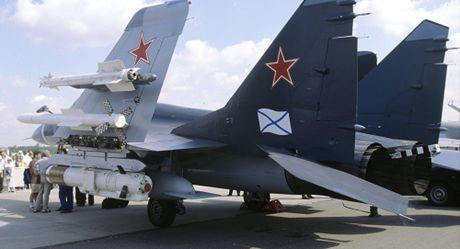 Loi ky thuat, tiem kich MiG-29 suyt gay hoa cho tau san bay Nga - Anh 1