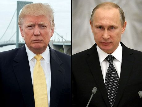 Tong thong Putin lan dau dien dam voi ong Donald Trump - Anh 1