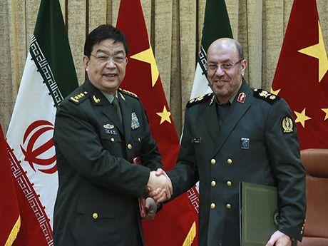 Iran va Trung Quoc len ke hoach to chuc dien tap quan su chung - Anh 1