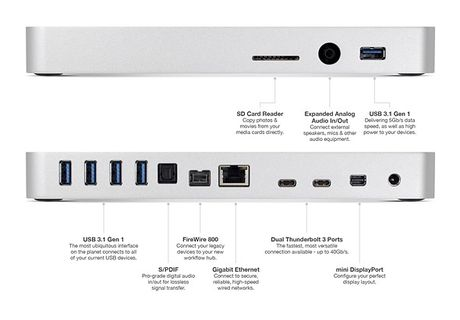OWC ra mat Thunderbolt 3 Dock, bo sung 13 cong pho bien cho MacBook - Anh 2