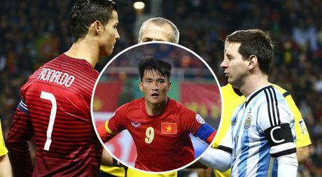 Cong Vinh sanh cung Ronaldo va Messi trong top 'Nhung cau thu ghi ban nheu nhat' - Anh 1