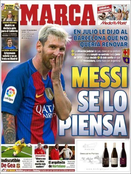 Lionel Messi chia tay Barcelona sau nhieu nam gan bo? - Anh 3