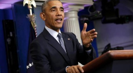 Tong thong Obama rat lo ngai ve ong Trump - Anh 1