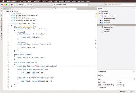 Tin vui: Microsoft se tung ra Visual Studio cho Mac - Anh 2
