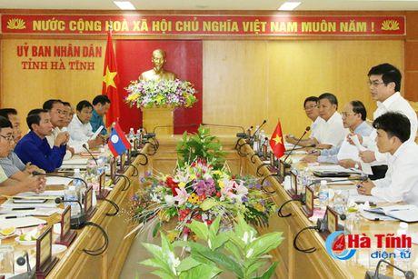 Phoi hop trien khai du an thuy loi tai Kham Muon dam bao tien do, chat luong - Anh 1