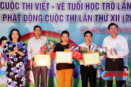 28 tac pham dat giai Cuoc thi viet - ve tho van tuoi hoc tro - Anh 1