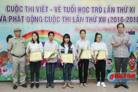 28 tac pham dat giai Cuoc thi viet - ve tho van tuoi hoc tro - Anh 3