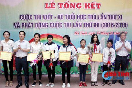 28 tac pham dat giai Cuoc thi viet - ve tho van tuoi hoc tro - Anh 4