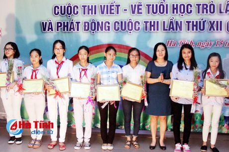 28 tac pham dat giai Cuoc thi viet - ve tho van tuoi hoc tro - Anh 5