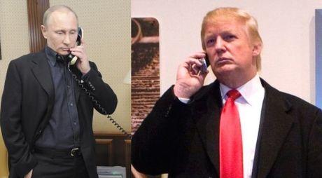 Tong thong Nga Putin dien dam voi ong Donald Trump - Anh 1