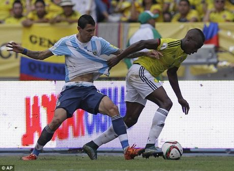 Argentina - Colombia: Khong con duong lui - Anh 1