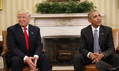 Di san Obama dung ben bo vuc duoi thoi Donald Trump - Anh 1
