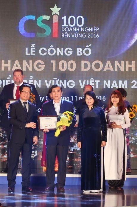 FrieslandCampina Viet Nam duoc vinh danh doanh nghiep ben vung - Anh 1