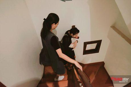 Sinh con duoc 1 thang, Hong Que nhanh chong lay lai voc dang chuan - Anh 7