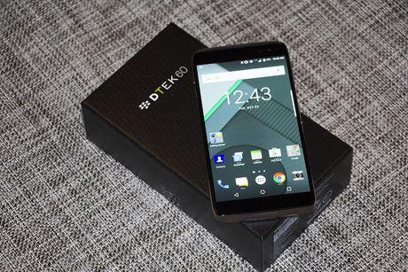 BlackBerry ra mat smartphone sieu bao mat DTEK60 - Anh 2