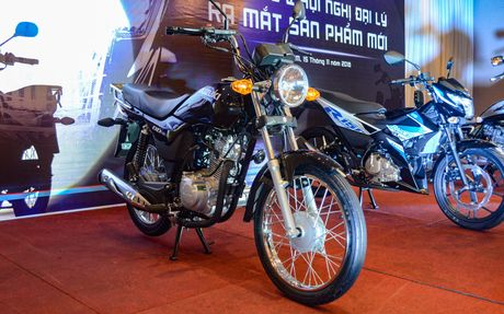 Suzuki GD110, xe con tay gia re sap ban ra tai Viet Nam - Anh 1