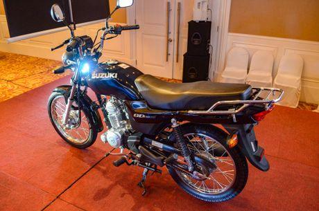 Suzuki GD110, xe con tay gia re sap ban ra tai Viet Nam - Anh 2