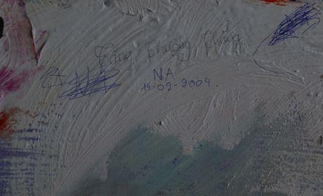 Hai buc tranh phong canh lon nhat Viet Nam vua ra mat da bi ve bay - Anh 3