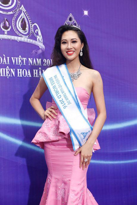 Dieu Ngoc duoc cap phep thi Hoa hau The gioi 2016 bat chap tin don phau thuat tham my - Anh 2