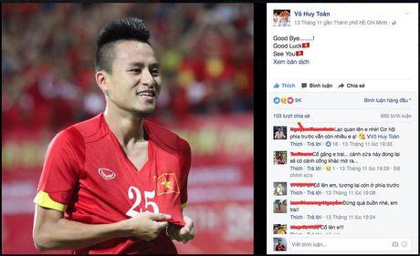 Huy Toan khong duoc tham du AFF Cup 2016: Co gi dau ma on ao... - Anh 1