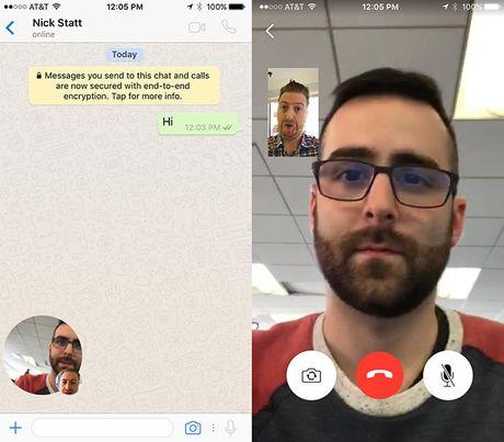 WhatsApp mo tinh nang goi video cho Android, iOS - Anh 1