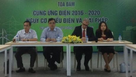 Tim giai phap bao dam cung ung dien giai doan 2016-2020 - Anh 1