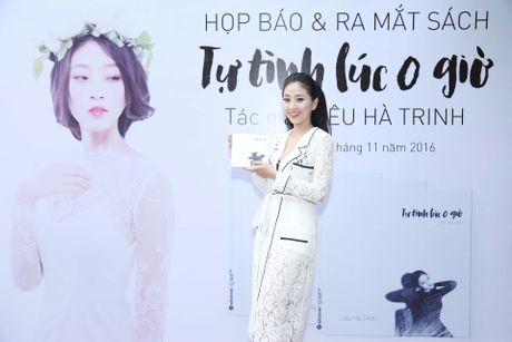 MC Lieu Ha Trinh khoe nguoi yeu trong ngay ra mat sach - Anh 1
