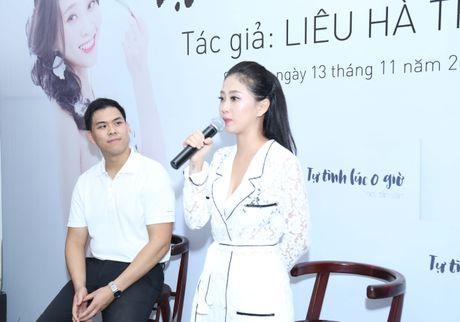 MC Lieu Ha Trinh khoe nguoi yeu trong ngay ra mat sach - Anh 3