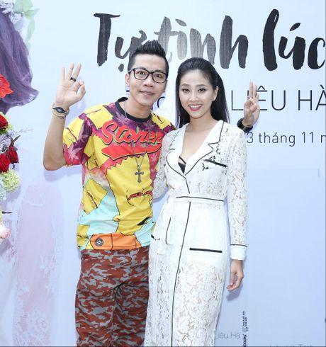 MC Lieu Ha Trinh khoe nguoi yeu trong ngay ra mat sach - Anh 6