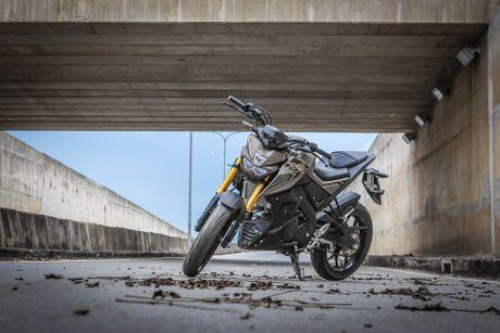 Yamaha TFX 150 naked bike khong doi thu tai Viet Nam - Anh 1