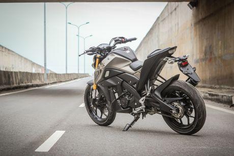 Yamaha TFX 150 naked bike khong doi thu tai Viet Nam - Anh 4