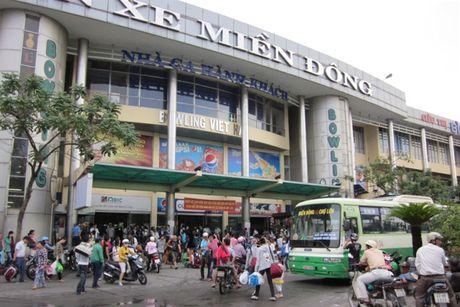 Khach khong can vao ben don xe tu dip Tet Duong lich - Anh 1