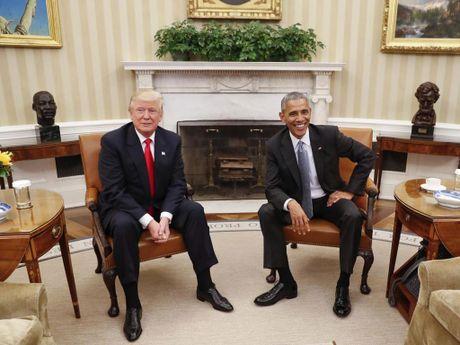Chi tiet ngac nhien khi Trump gap Obama tai Nha Trang - Anh 1