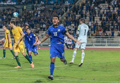 Thai Lan bat ngo cam hoa Australia o vong loai World Cup - Anh 1
