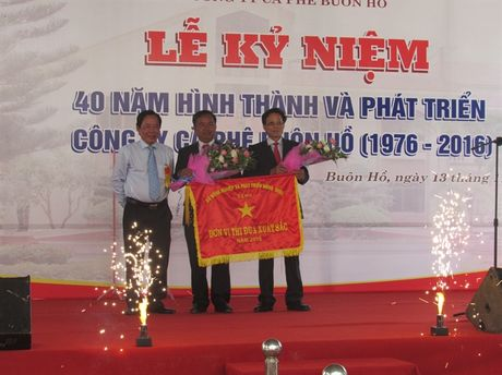 Cong ty Ca phe Buon Ho ky niem 40 nam thanh lap - Anh 2