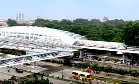 10 doan tau tuyen Metro Nhon - ga Ha Noi gia gan 3.000 ty dong - Anh 1