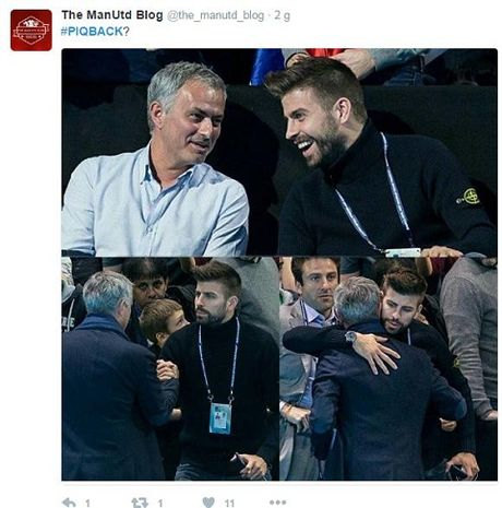 CDV Man United doi Mourinho dua Pique tro lai Old Trafford - Anh 6