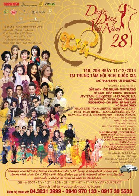 Dan ca si, nguoi dep hang dau tham gia 'Duyen dang Viet Nam 28' - Anh 1