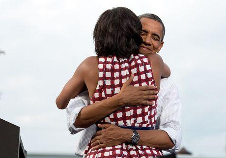 Tan chay voi nhung khoanh khac lang man cua vo chong Tong thong Obama - Anh 11