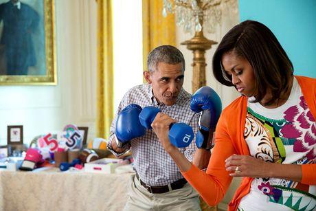 Tan chay voi nhung khoanh khac lang man cua vo chong Tong thong Obama - Anh 13