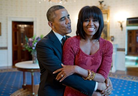 Tan chay voi nhung khoanh khac lang man cua vo chong Tong thong Obama - Anh 14