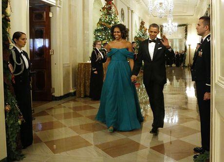 Tan chay voi nhung khoanh khac lang man cua vo chong Tong thong Obama - Anh 15