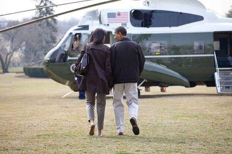 Tan chay voi nhung khoanh khac lang man cua vo chong Tong thong Obama - Anh 3
