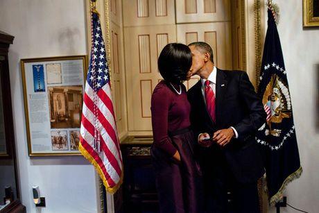 Tan chay voi nhung khoanh khac lang man cua vo chong Tong thong Obama - Anh 5
