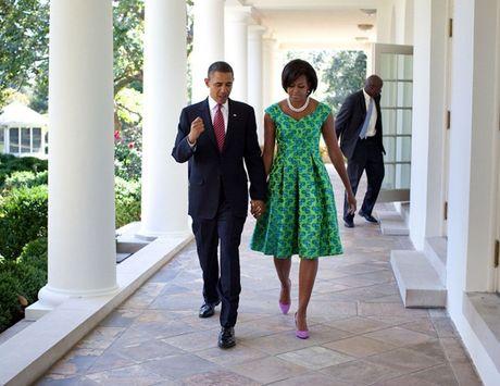 Tan chay voi nhung khoanh khac lang man cua vo chong Tong thong Obama - Anh 6