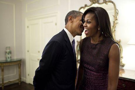 Tan chay voi nhung khoanh khac lang man cua vo chong Tong thong Obama - Anh 7