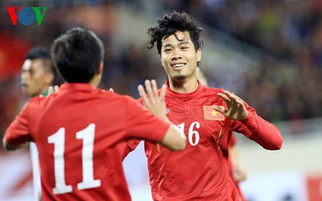 HLV Huu Thang muon gianh ket qua thuan loi truoc Myanmar - Anh 1