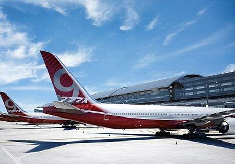 Boeing 'trinh lang' sieu may bay dan dung - Anh 1