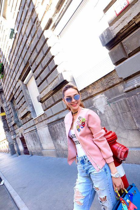 Minh Hang so huu tu do hieu dang cap nhu mot fashionista - Anh 11