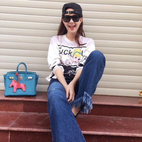 Minh Hang so huu tu do hieu dang cap nhu mot fashionista - Anh 8